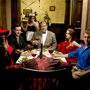 DC Murder Mystery: death at the dinner table